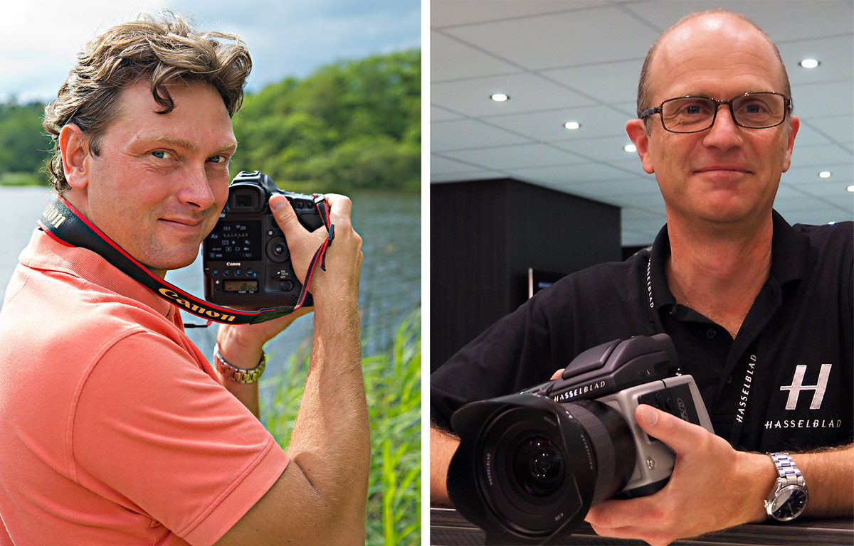 Objektivtest.se Christian Nilsson teknisk redaktör och Per Nordlund optisk designer gör professionella objektivtester