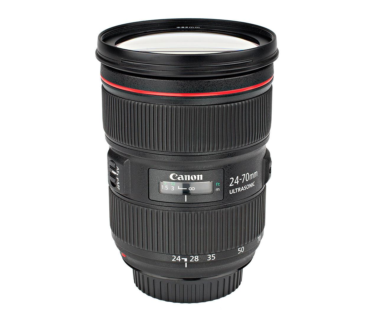Canon EF 24-70 mm F2,8 L II USM test ljusstark normalzoom