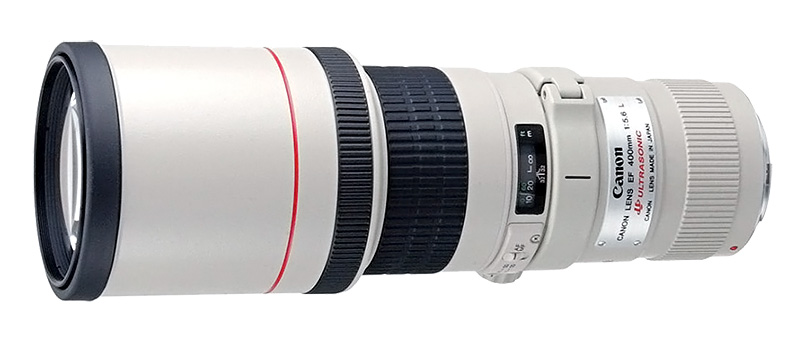 Canon EF 400 mm F5,6 L USM test