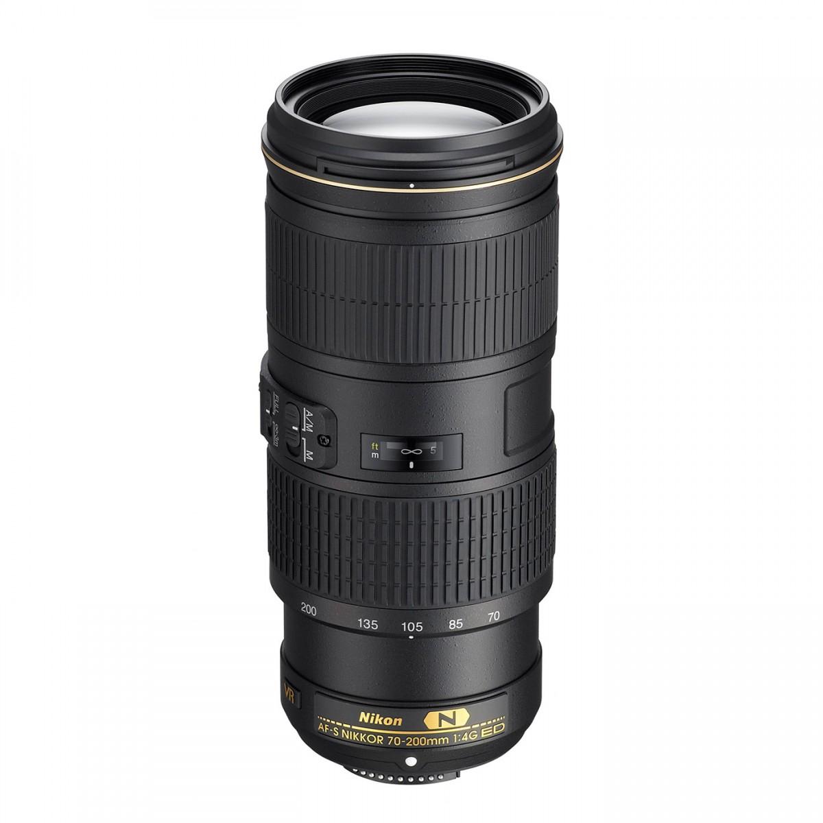 Nikon AF-S 70-200 mm F4 G ED VR test