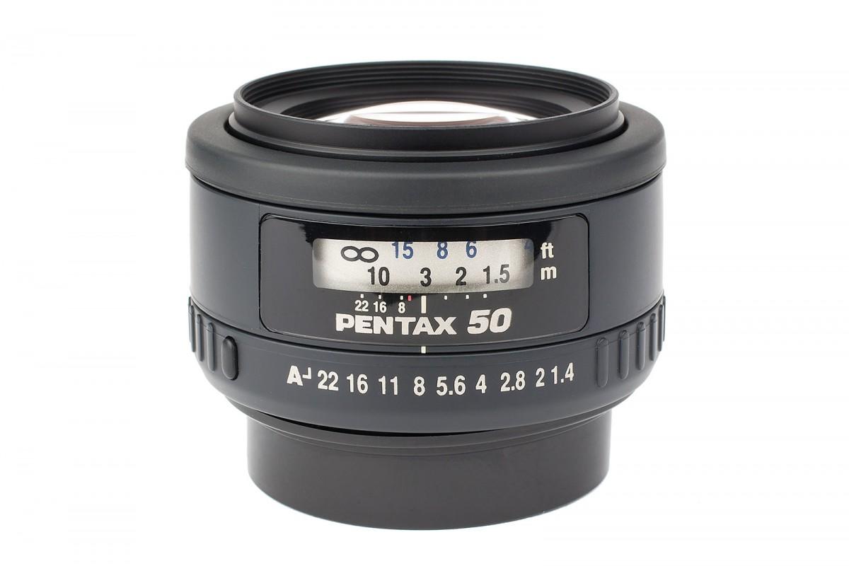 Pentax FA 50 mm f/1,4 test
