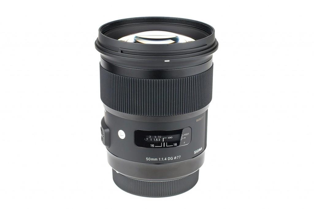 Sigma 50 mm f/1,4 DG HSM Art test