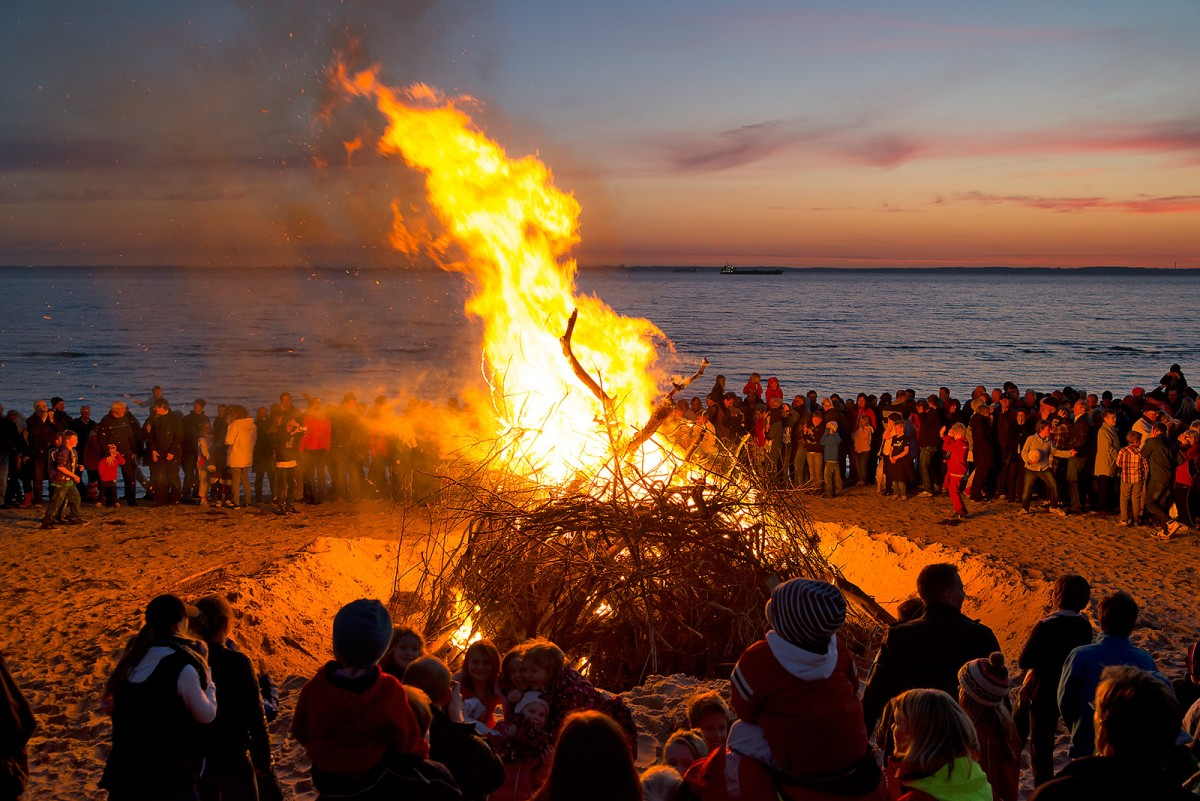 Valborg bonfire Nikon D800 E photo Christian Nilsson