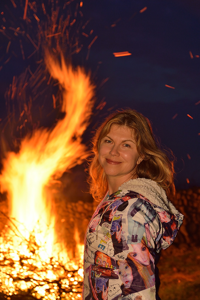 Valborg bonfire portrait photo Christian Nilsson