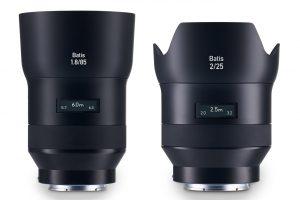 Zeiss Batis – futuristiska objektiv för Sony E-fattning