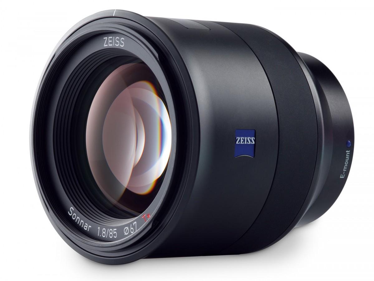 Zeiss Batis 85 mm F1,8 teleobjektiv Sony E fullformat ny