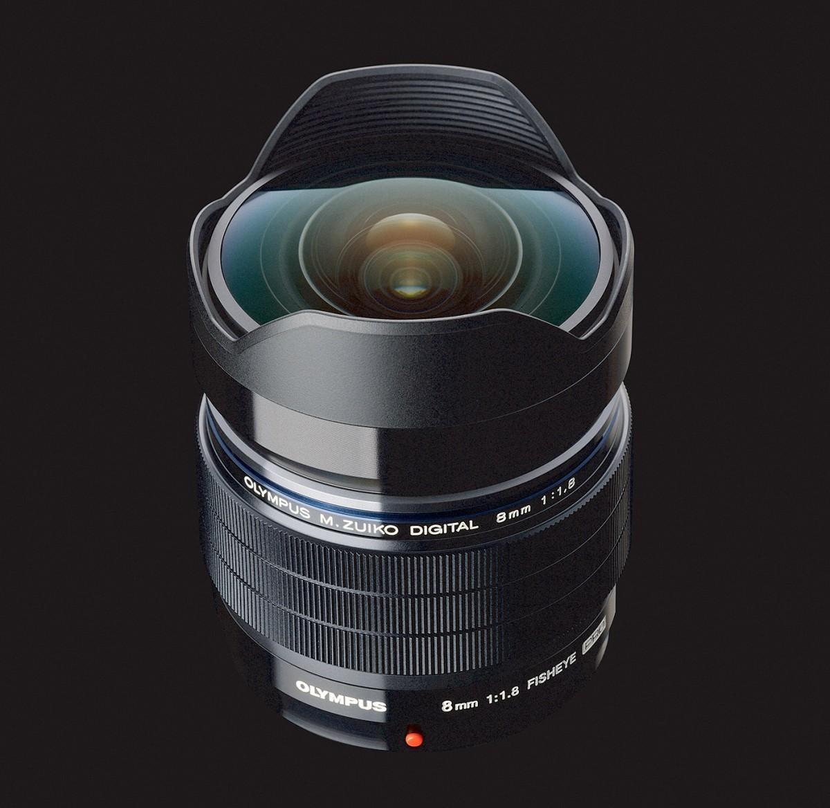 Olympus M.Zuiko Digital ED 8mm f/1,8 Fisheye Pro