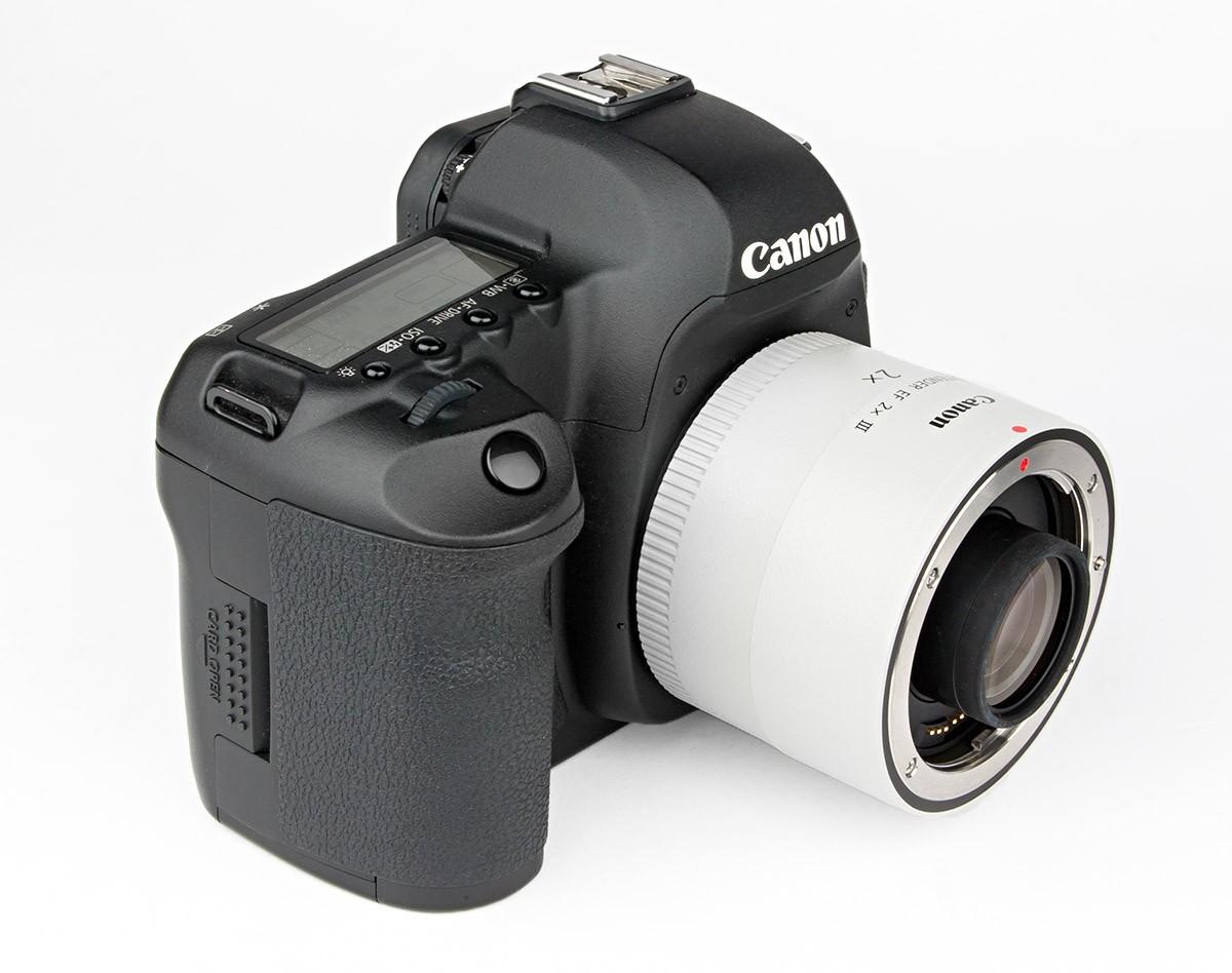 Canon Extender EF 2x III Test med Canon EOS 5D Mark II