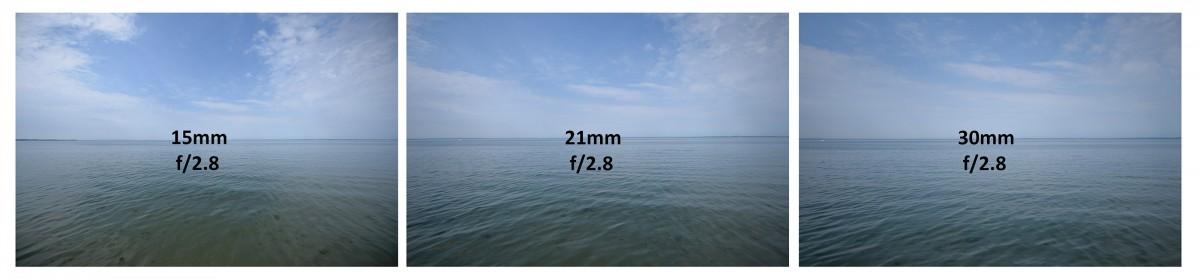 test Tamron 15-30 mm f/2,8 Di VC USD vinjettering F2,8