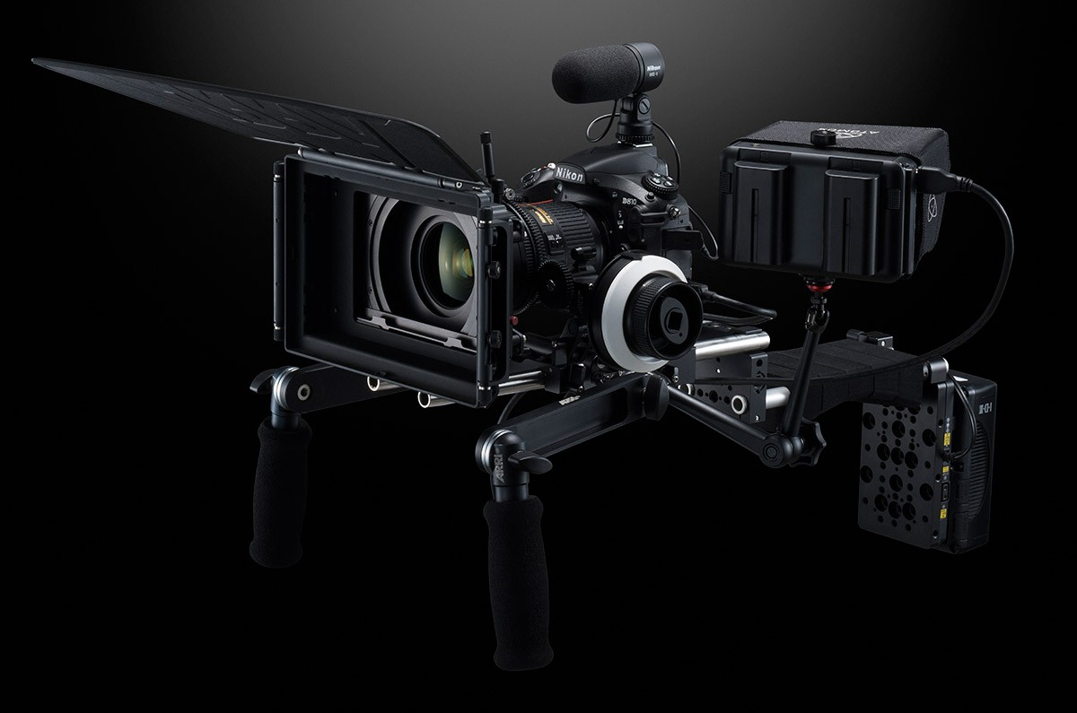 Nikon D810 professionell videokamera fullformat