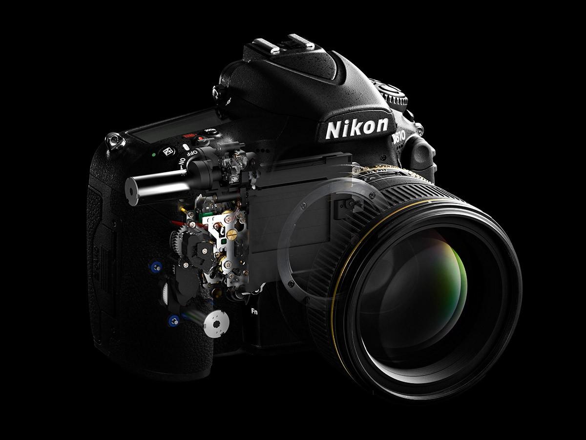 Nikon D810 kameratest slutare spegel