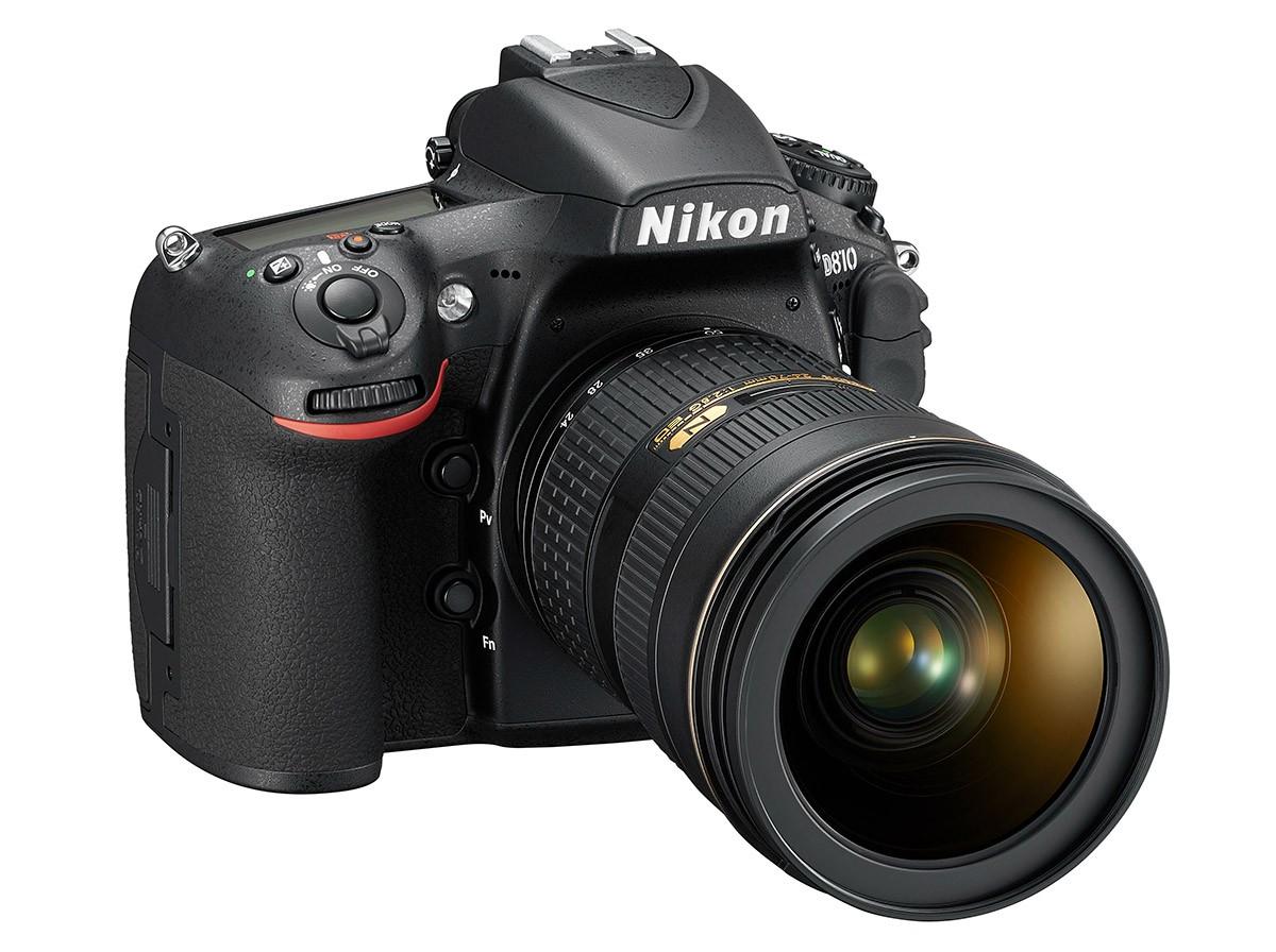 Nikon D810 test systemkamera