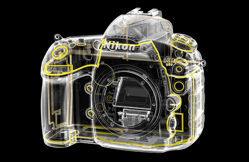 Nikon D810 weather seals