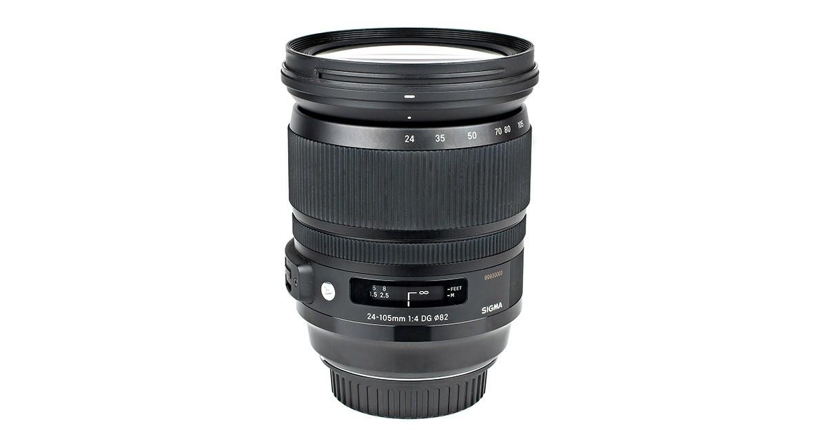 Sigma 24-105 mm f/4 DG OS HSM A test