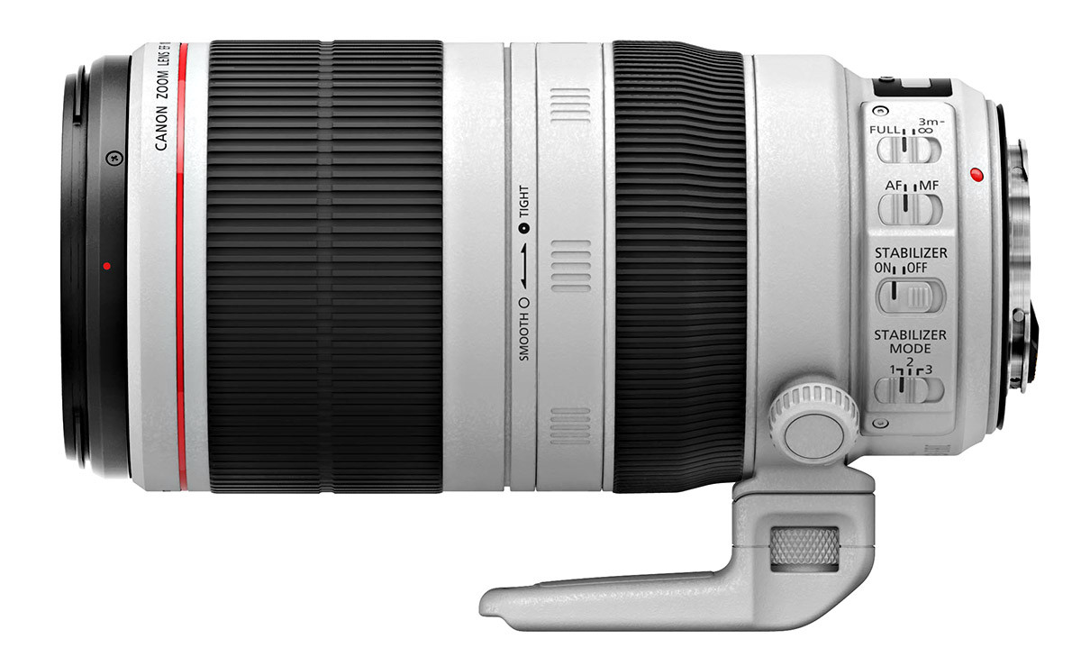 Canon EF 100-400 mm f4,5-5,6 L IS II USM bildstabilisering
