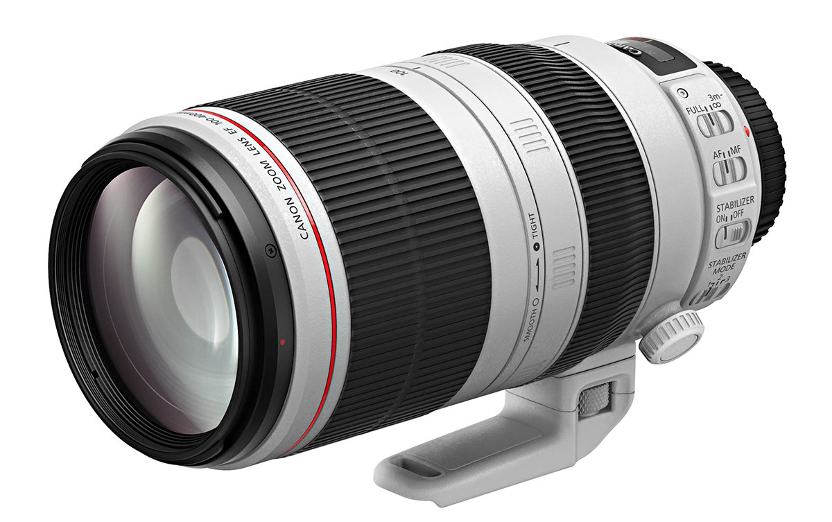 Canon EF 100-400mm f4.5-5.6L IS II USM tele zoom lens review
