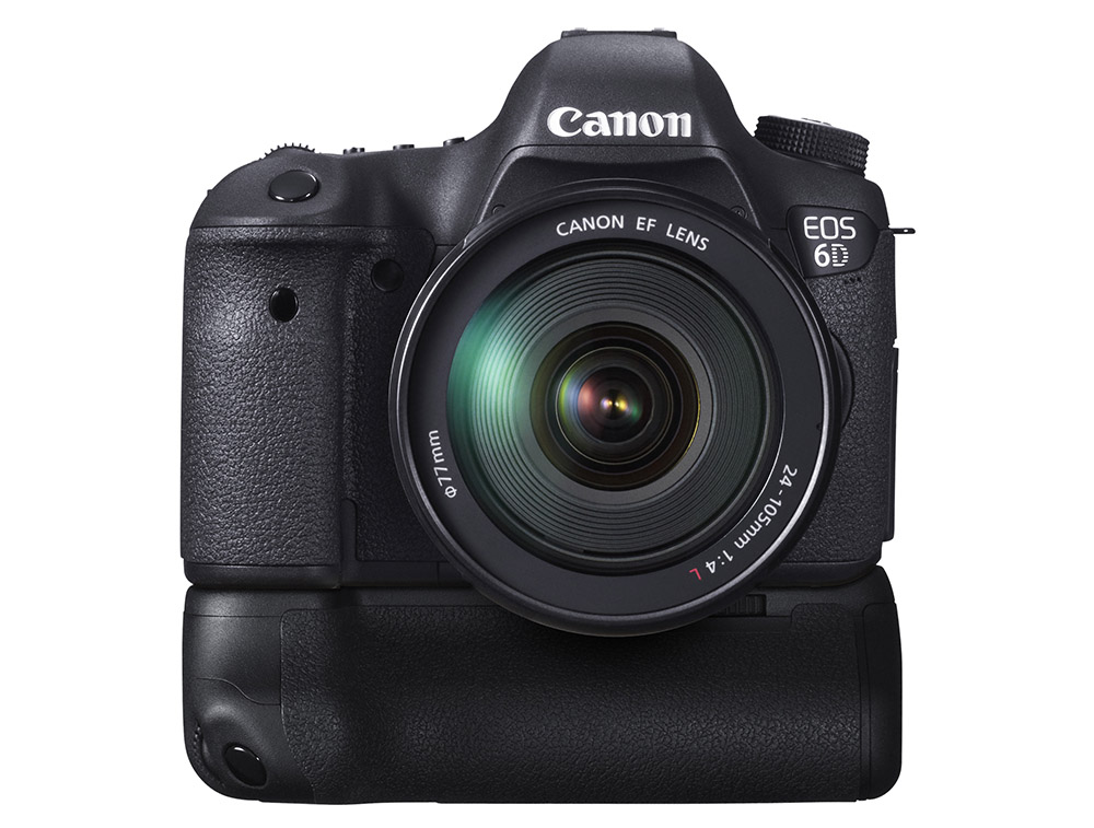 Canon EOS 6D med BG-EL13