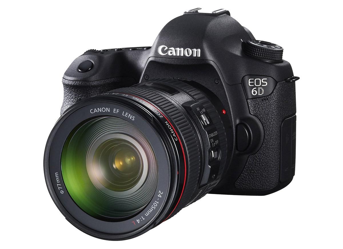 Canon EOS 6D test systemkamera fullformatssensor