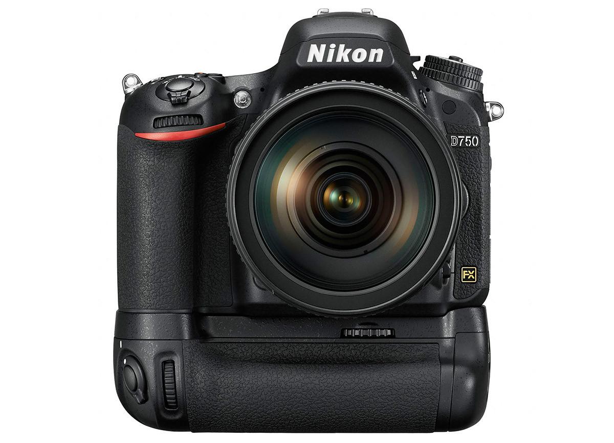 Nikon D750 batterigrepp MB-D16