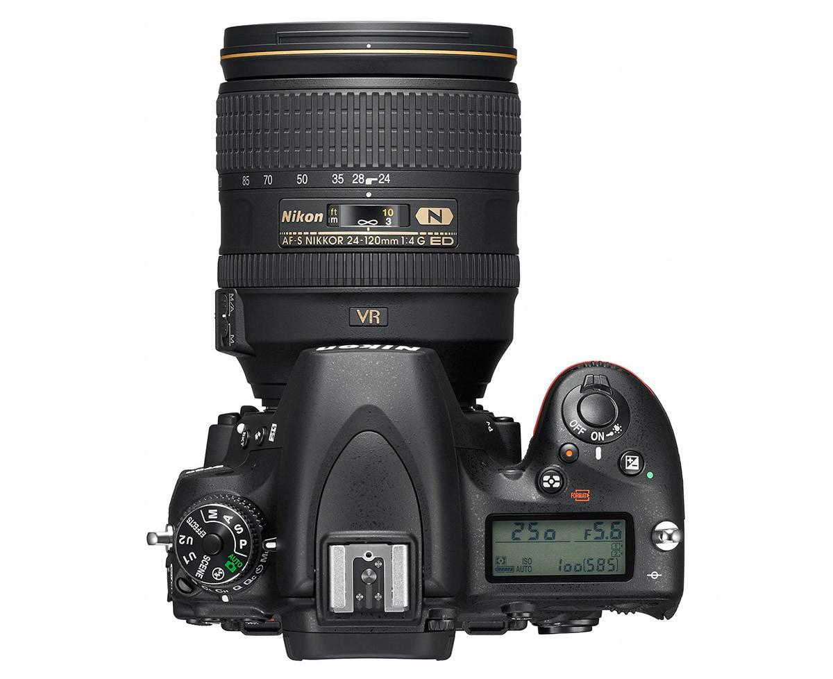 Nikon D750 knappar reglage