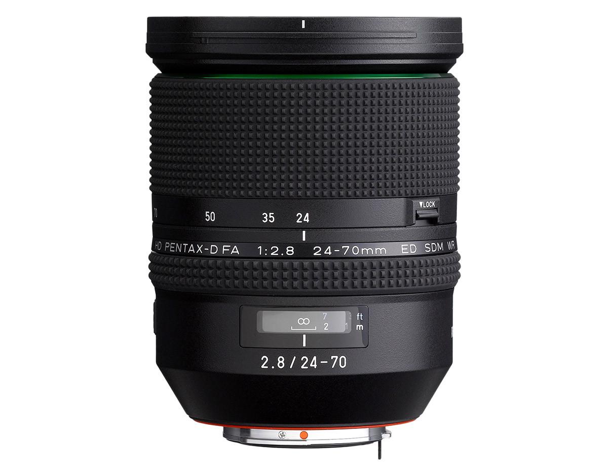 Pentax 24-70mm f/2.8 ljusstark normalzoom fullformat