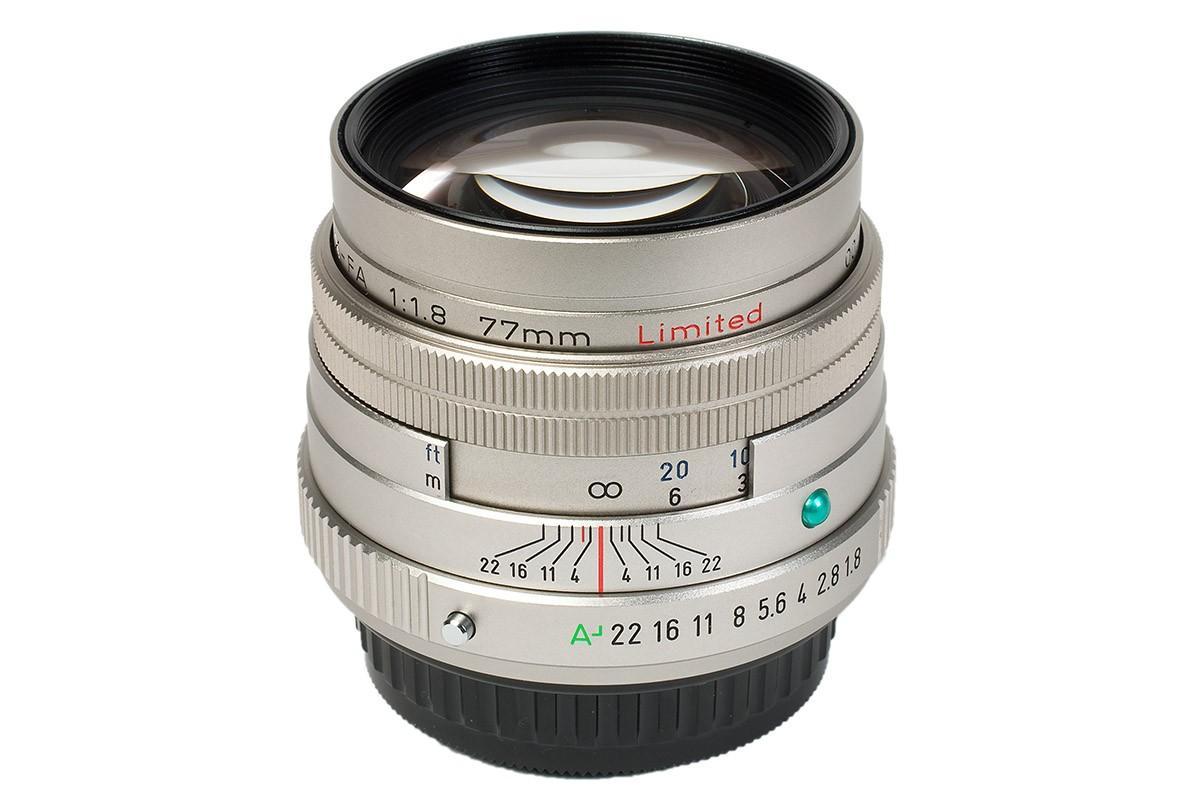 Pentax SMC FA 77mm f1,8 Limited silver