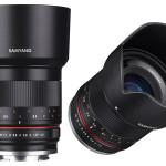 Samyang lanserar 21mm/1,4 och 50mm/1,2 för spegellösa kameror