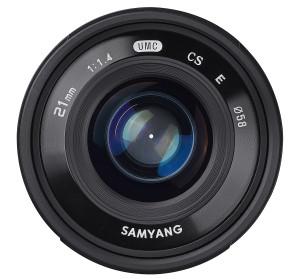 Samyang 21mm f/1,4 ED AS UMC CS ljusstarkt objektiv