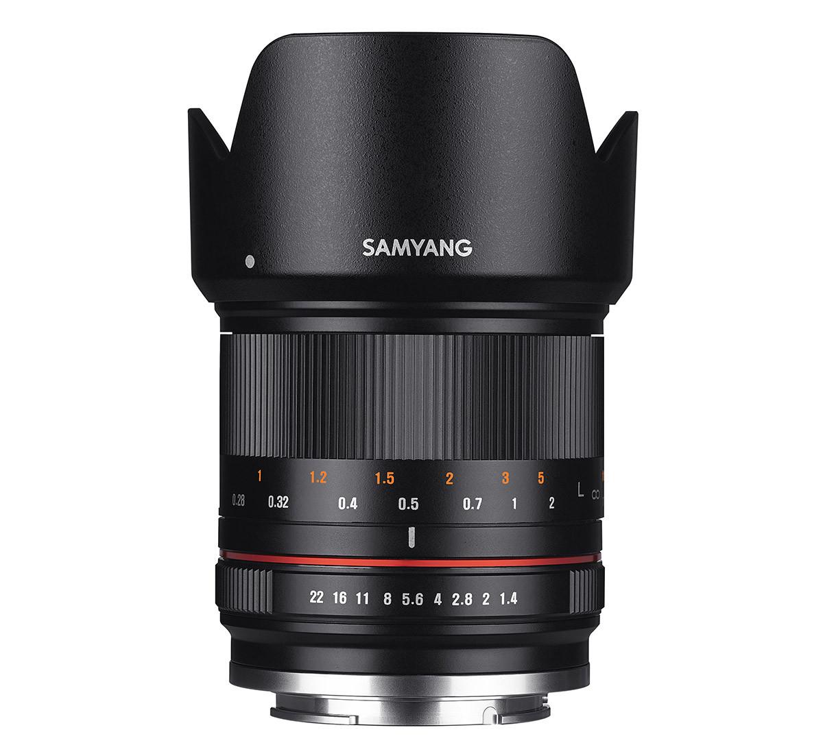 Samyang 21mm f/1,4 ED AS UMC CS objektiv