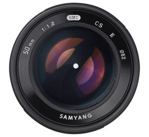 Samyang 50mm f/1,2 AS UMC CS ljusstarkt objektiv