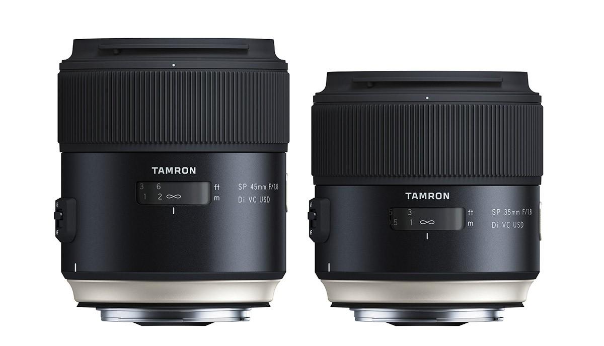 Tamron SP 35mm/1,8 Di VC USD & Tamron SP 45mm/1,8 Di VC USD