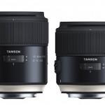 Tamron lanserar 35mm/1,8 och 45mm/1,8 med bildstabilisering