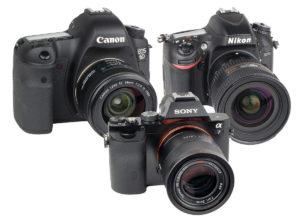 Test av fullformatskameror instegsmodeller bästa kameran