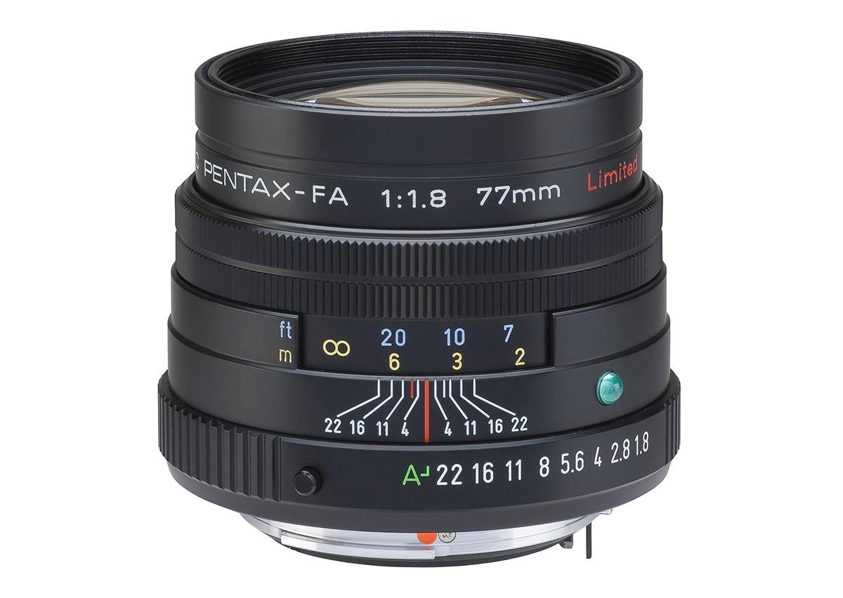 Test Pentax SMC FA 77mm f1,8 Limited svart