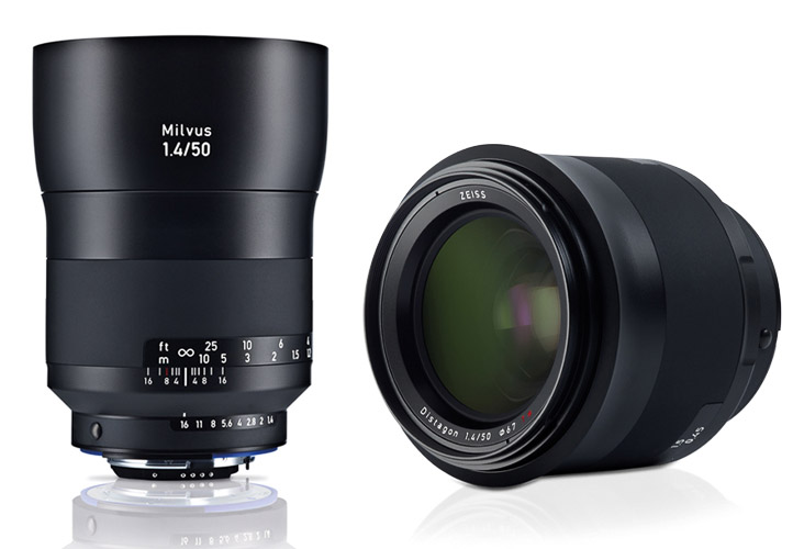 Zeiss Milvus 50mm f/1,4 normalobjektiv