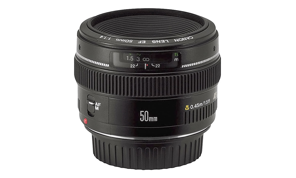 Canon EF 50 mm f/1,4 USM normal objektiv test