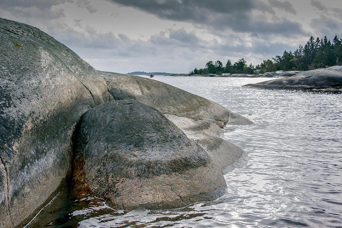 Claes Grundsten bloggar kajak paddling Gräsö skärgård