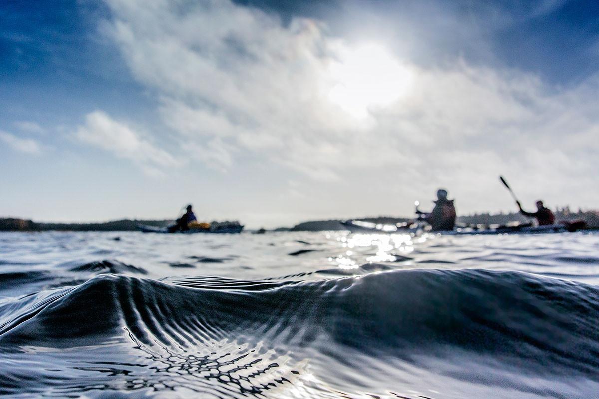 Claes Grundsten blogg kajak paddling höst Gräsö Skärgård