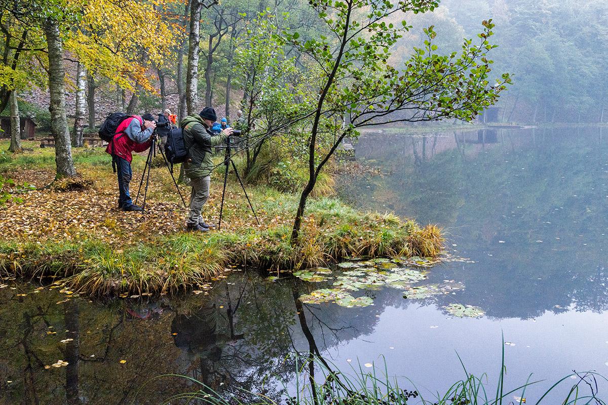 Claes Grundsten Odensjön Söderåsen naturfoto workshop