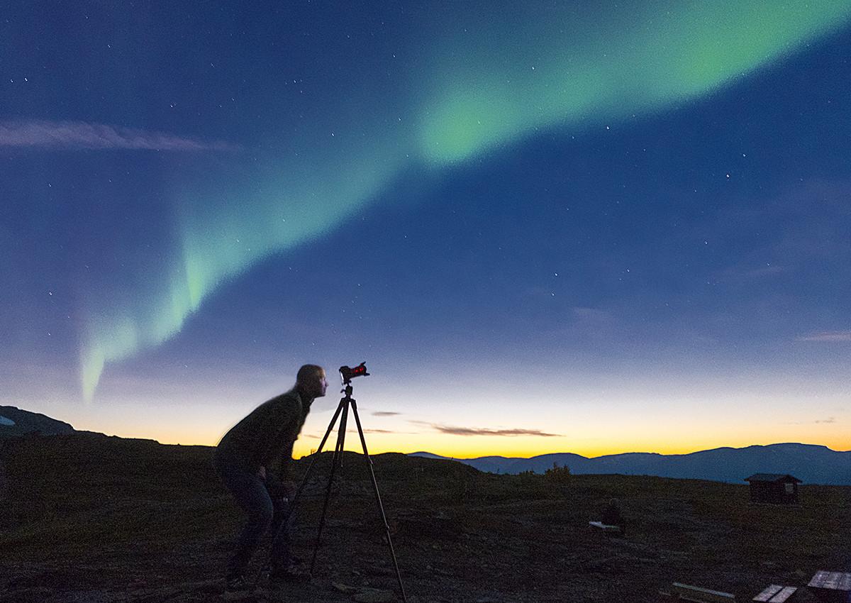 Claes Grundsten workshop naturfoto blogg norrsken Fujifilm X-T1
