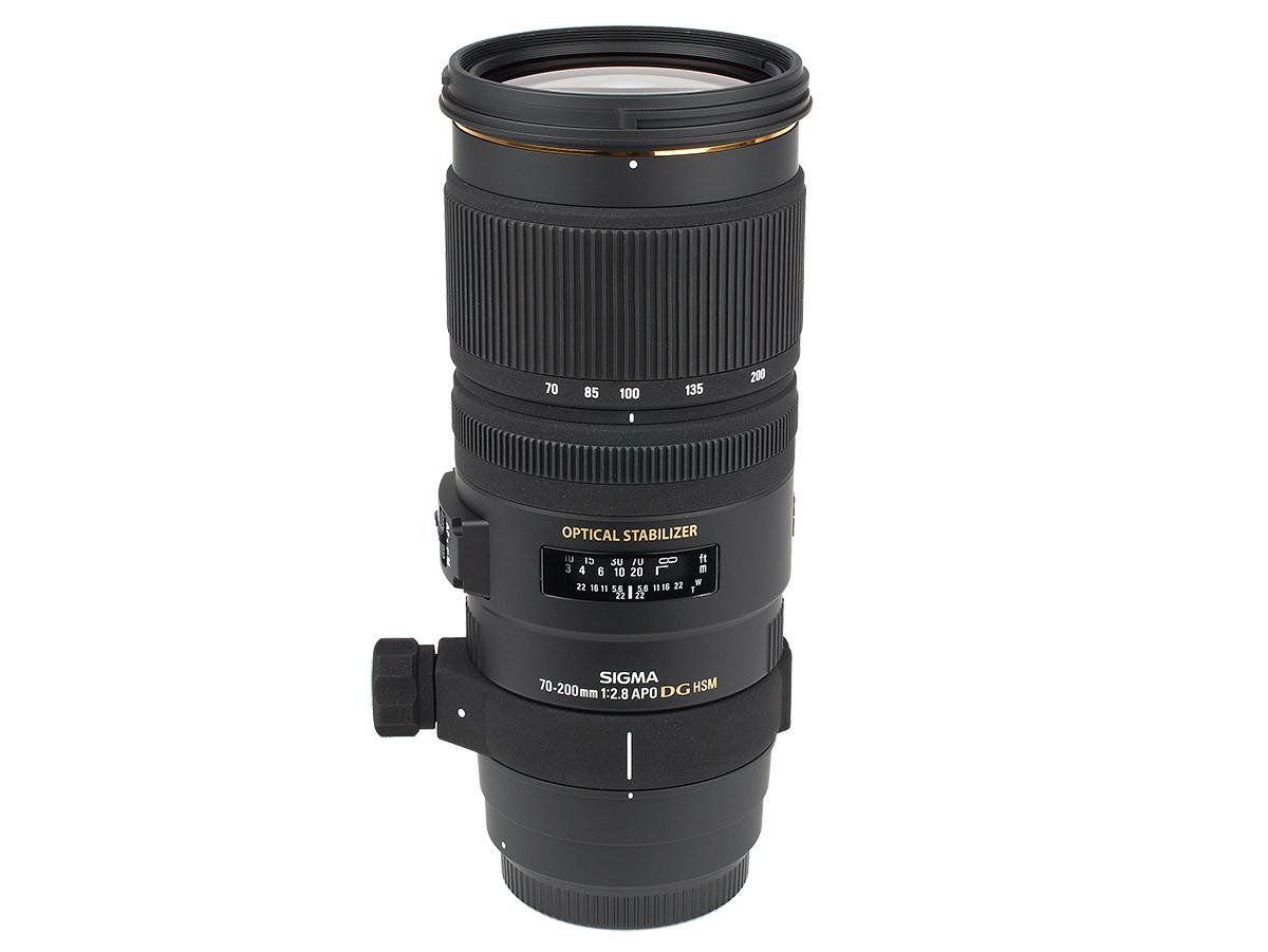 Sigma APO 70-200 mm f2,8 EX DG OS HSM test telezoom Sigma objektiv
