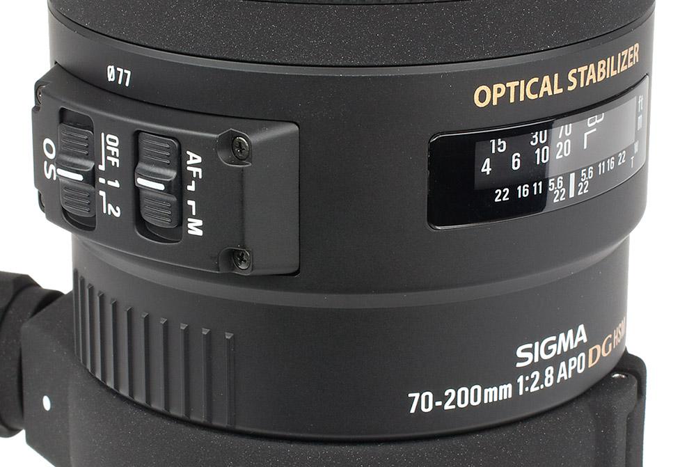 Sigma APO 70-200mm f.2.8 DG OS HSM telezoom test bildstabilisering