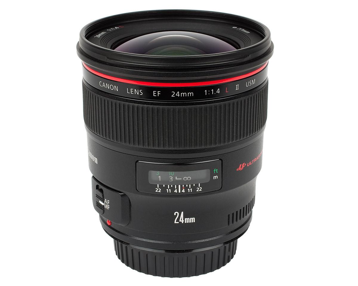 Canon EF 24 mm f/1,4 L II USM test ljusstarkt vidvinkelobjektiv