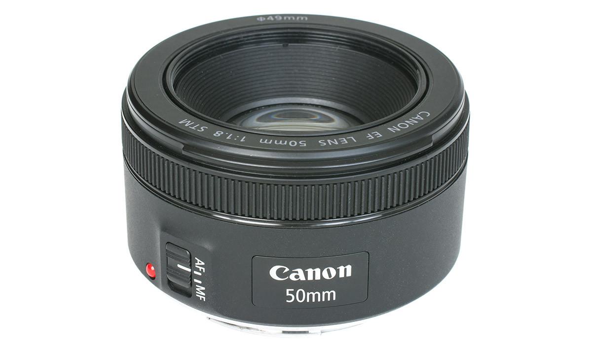 Canon EF 50 mm f/1,8 STM test normalobjektiv