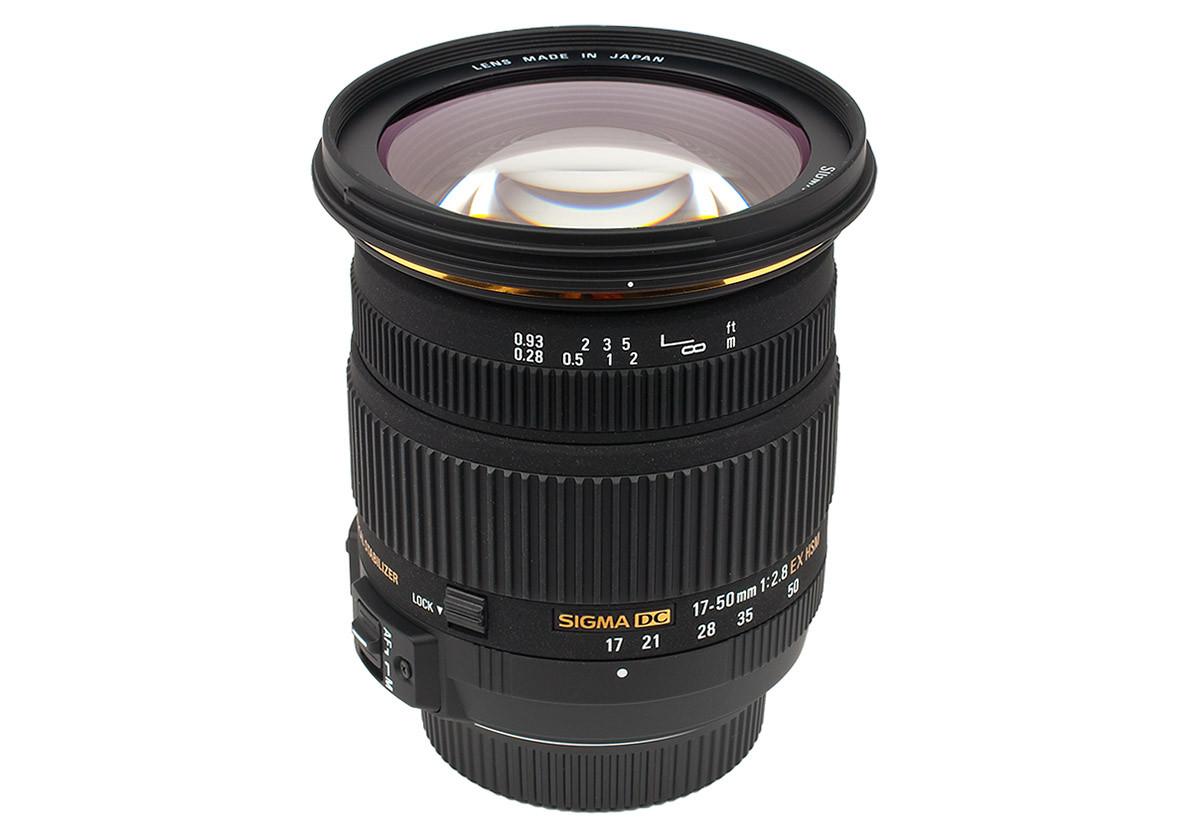 Sigma 17-50 mm f/2,8 EX DC OS HSM test ljusstark normalzoom APS-C