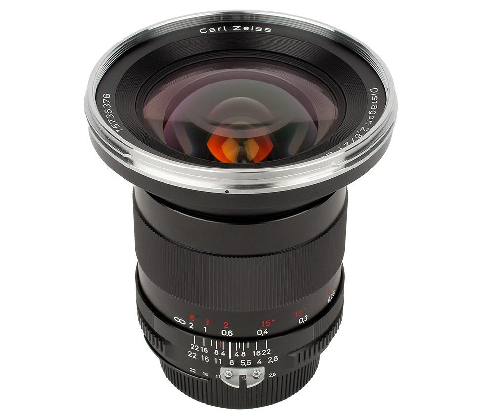 Zeiss Distagon T* 21 mm f/2,8 vidvinkel objektiv test
