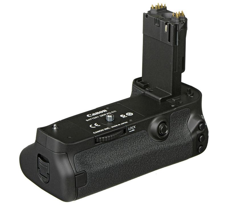 Canon BG-E11 batterigrepp till systemkamera Canon EOS 5D Mk III och Canon EOS 5DS R