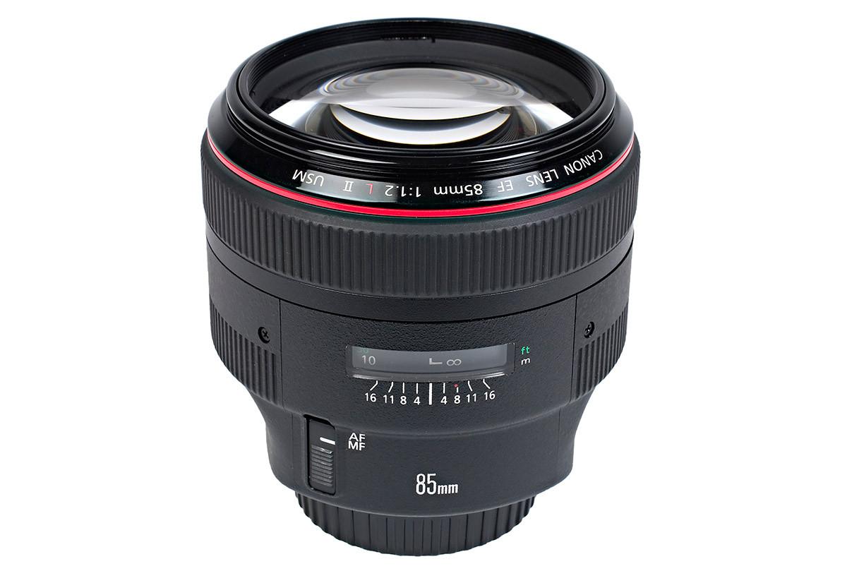Canon EF 85mm f/1,2 L II USM test tele objektiv