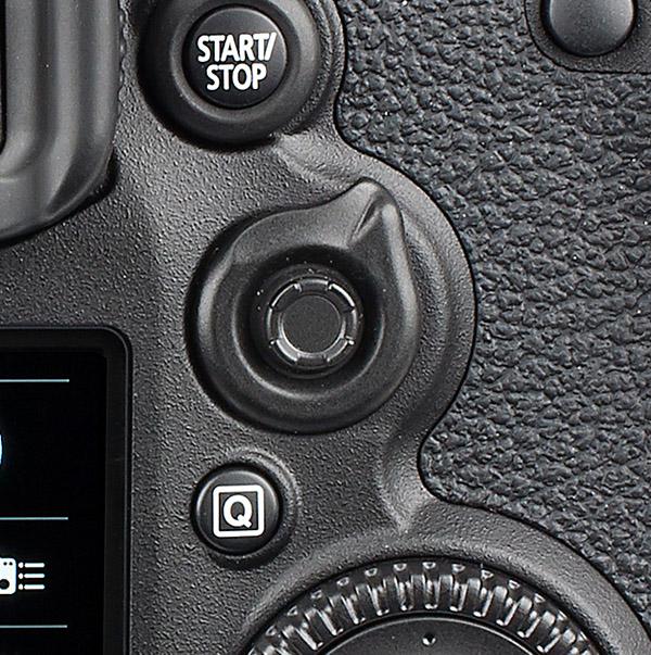 Canon EOS 7D Mark II AF joystick