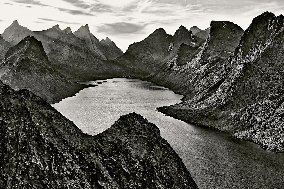 Claes Grundsten Kjerkfjorden Lofoten Norge landskapsfotografering Canon EOS 5D Mark III